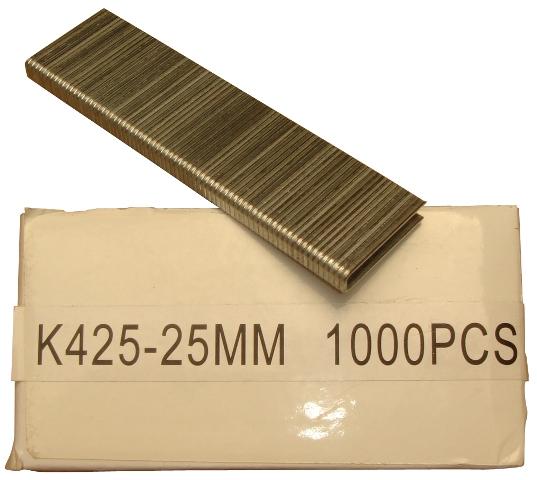 1000 klammern 5 7mm x 25mm f r druckluftnagler tacker ebay. Black Bedroom Furniture Sets. Home Design Ideas